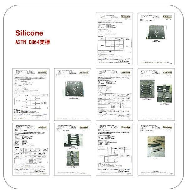ASTM C864(シリコン)