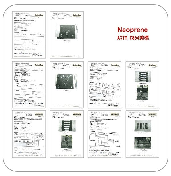 ASTM C864(ネオプレン)